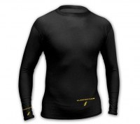 TEE SHIRT THERMIQUE COMPRESSION MOULANT MANCHES LONGUES SPORT HIVER