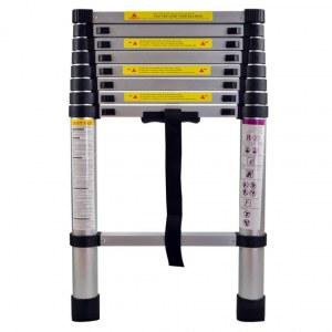 Échelle télescopique extensible 2,6 m /(3.2m/3.8m)kraftmuller