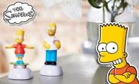 Destockage figurines solaires THE SIMPSONS officielles