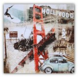 Tableau déco hollywood USA Californie