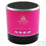 SD-808 Nouvelle Mini USB Digital Media Président avec tf fente / FM pour Phone/Laptop/MP3