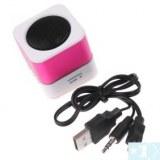 Lecteur MP3 Haut-parleurs stéréo Amplificateur Micro SD TF USB Disk FM