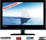 TV LCD HD 19pouces (48 cm) HDMI USB TNT