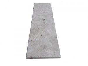 Travertin Classique Marche D'escalier 100x30 3 cm Arrondi Rustique EN STOCK