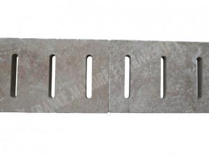 Travertin Classique Grille Rainure 25x61 3 cm EN STOCK