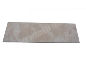 Travertin Classique Marche D'escalier 110x33 3 cm Arrondi 1'er Choix EN STOCK