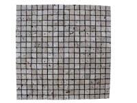 Travertin Classique Mosaique 1,5x1,5 cm Rustique EN STOCK