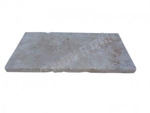 Travertin Classique Nez de Marche 30x60 3 cm Droit EN STOCK