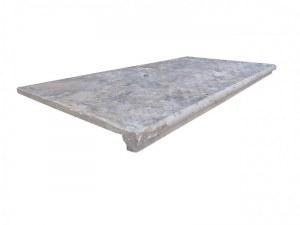 Travertin Silver Nez de Marche 30x60 3 cm Ogee EN STOCK