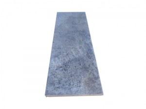 Travertin Silver Marche D'escalier 120x40 3 cm Arrondi Rustique EN STOCK