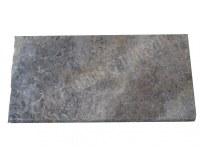 Travertin Silver Margelle 30x60 5 Arrondi 1er Choix EN STOCK