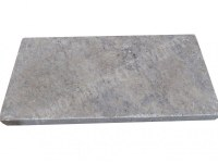 Travertin Silver Margelle 30x60 5 Droit 1'er Choix EN STOCK