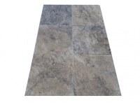 Travertin Silver Gris 60x60x2cm 1er Choix
