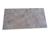 Travertin Silver Margelle 30x60 3 Droit 1'er Choix EN STOCK