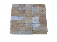 Travertin Jaune 7,5x15 cm Commercial EN STOCK