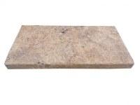 Travertin Jaune Nez de Marche 30x60 5 cm Droit EN STOCK