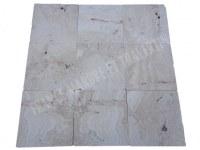 Travertin Beige Clair Malibu 40x40 1,2 cm Antique Commercial EN STOCK