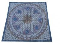 Travertin Mixte Rosaces Antique 91,5x91,5 cm EN STOCK