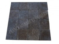 Travertin Noce Marron 20x20x3cm 1er Choix