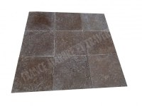 Travertin Noce Marron 40x40x2cm 1er Choix