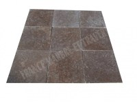 Travertin Noce Marron 40x40x3cm 1er Choix