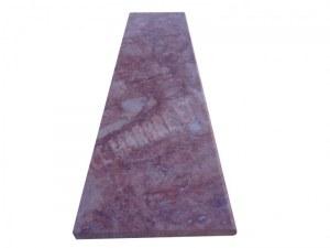 Travertin Rose Marche D'escalier 100x30 3 cm Arrondi 1'er Choix EN STOCK
