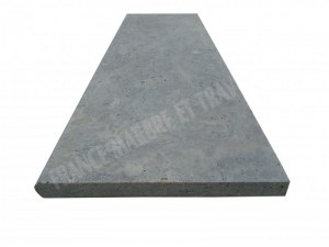 Travertin Silver Marche D'escalier 100x33 3 cm Arrondi 1'er Choix EN STOCK