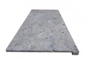 Travertin Silver Nez de Marche 30x60 3 cm Arrondi EN STOCK