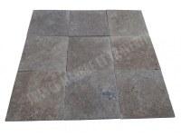Travertin Walnut 40x40 1,2 cm Antique 1'er Choix EN STOCK
