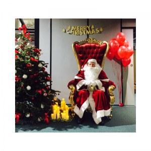 Grossiste fauteuil trône mariage, père Noël