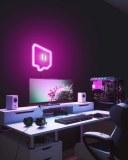 Deco Neon led Twitch pour streamer