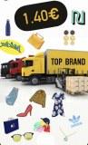 Camion complet de marchandise mix 100% marques