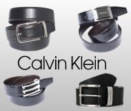 Packs ceintures calvin klein en cuir homme