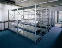 Rayonnage semi lourd métallique modulable galvanisé rack lot prix imbattable