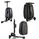 Valise Trottinette électrique bagage 2 en 1 avec batterie