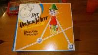 "Vieux jouet an80 ""der hochradfahrer "" Clown sur un vélo avec ficelle"