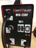 KRAFTMULLER MIG-230F Poste à souder ventilé avec fil continu sans gaz