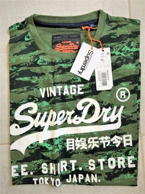 Lot de Tee-Shirt SuperDry