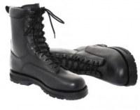 Bottes militaires cuir