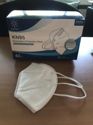 Masque KN95 = FFP2 / SACHET INDIVIDUEL / DISPONIBLE DE SUITE