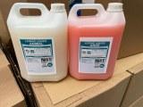 Vente à la palette de produits d'entretien et d'hygiène (fabrication francaise).