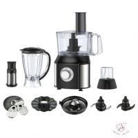 Robot culinaire multifonction 10 en 1 avec mélangeur 550Watts - Royal Swiss