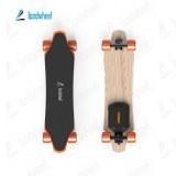 Hub motorized 4 wheel drive wireless electric skateboard