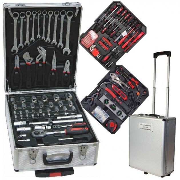 Malette outils 186 pieces ampex international destockage - Malette outils enfant ...