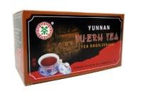 Pu erh post fermenté grande marque Zhong Cha en sachets