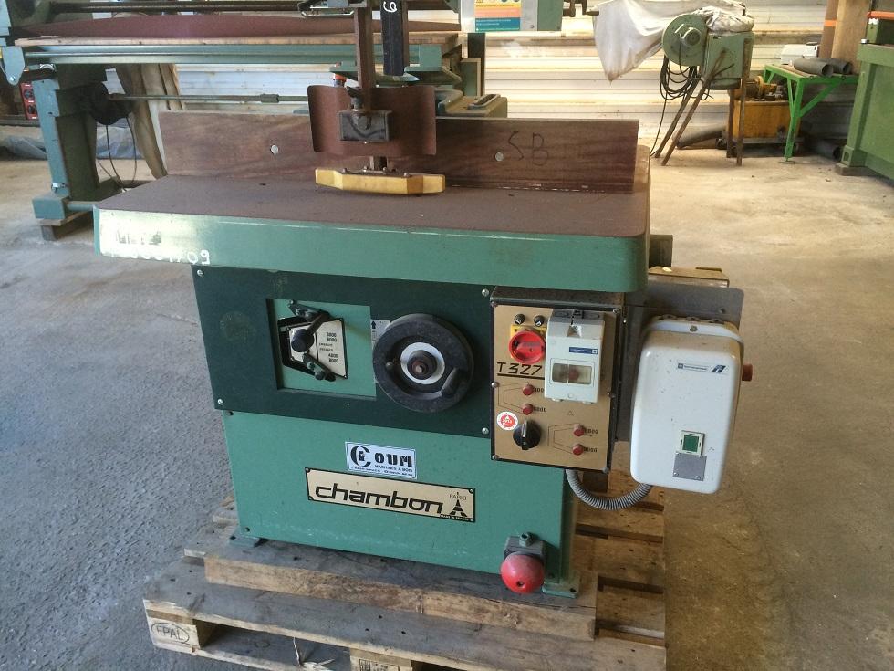 Toupie a bois chambon 327 c destockage grossiste - Toupie a bois ...