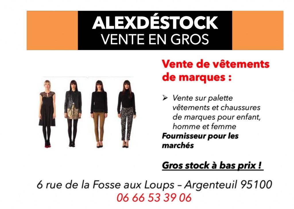 Vente en gros de lots de vêtements de marques Destockage Grossiste 3f5714c54d76